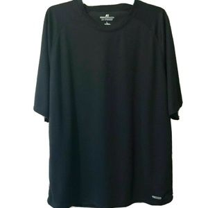 RUSSELL ATHLETIC BLACK DRI-POWER SHIRT